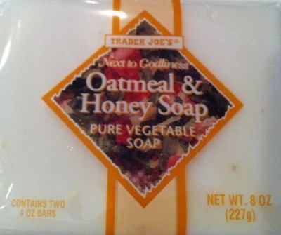 Trader Joe's Bag TRADER JOE,S Oatmeal and Honey Soap Pure Vegetable Soap