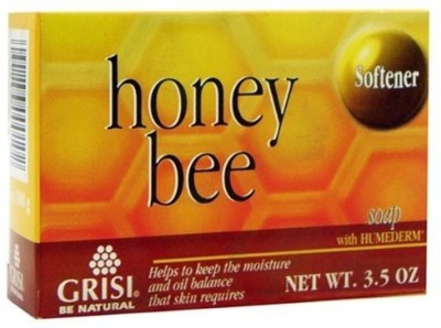 Grisi Natural Honey Bee Bar Soap with Humederm