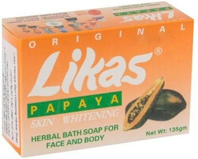 Likas Papaya Soap Papaya Skin Whitening Soap