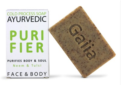 Gaiia Purifier Neem & Tulsi, 100% Natural Ayurvedic Cold Process Soap