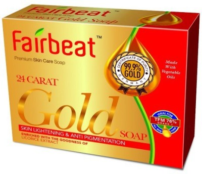 FAIR BEAT GOLD SOAP- ENRICHED WITH LICORICE EXTRACT