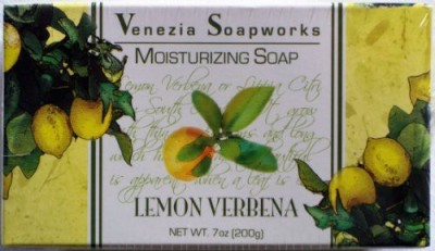 Venezia Soapworks 2 Bar Set Moisturizing Soap Lemon Verbena