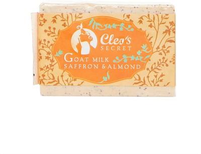 Cleo,s Secret Goat Milk Soap With Saffron & Almond