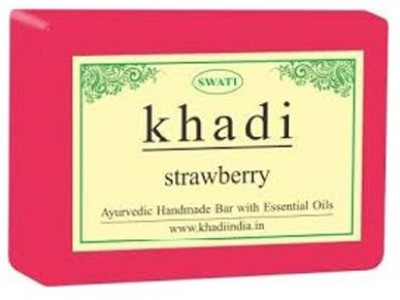 Khadi Natural Strawberry Hand Made(125 g)