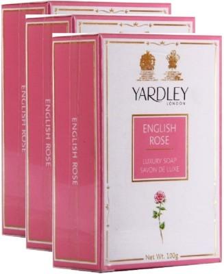 Yardley London English Roase Luxury Savon De luxe