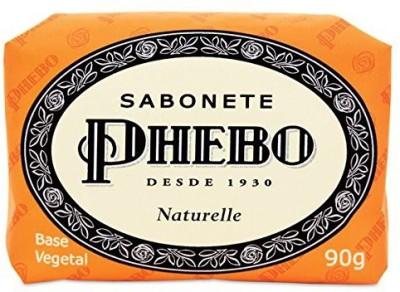 Phebo Linha Tradicional - Sabonete em Barra de Glicerina Naturelle ( Classic Collection - Glycerin Bar Soap Naturelle Soap)