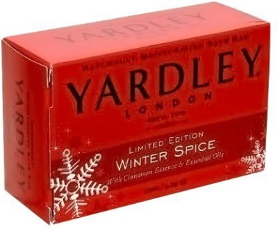 Yardley of London Winter Spice Bar Soap with Essence & Essential Oils 2 Pack