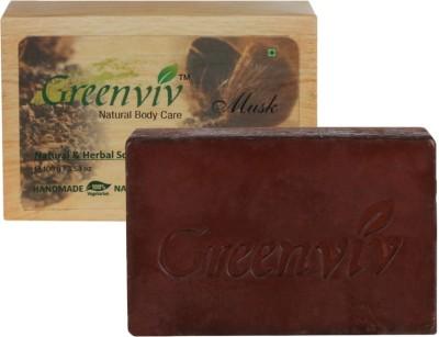 Greenviv Natural Musk Soap