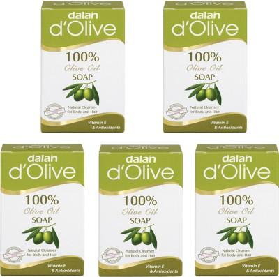 Dalan Pure Olive Oil Soap, 150g X 5 pcs.