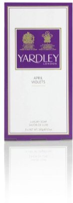 Yardley April Violets By Of London For Women. Perfumed Soap 3