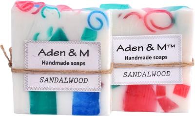 Aden & M Sandalwood - Pack of 2