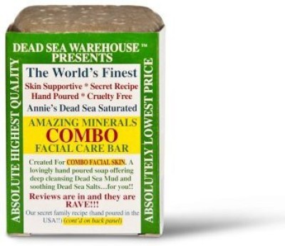 Dead Sea Warehouse Amazing Minerals Combo Facial Care Bar