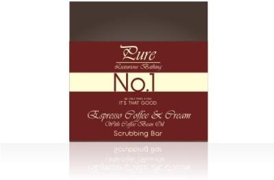 Pure Luxurious Bathing Espresso Coffee & Milk Cream Body Bar