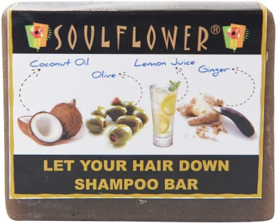 Soulflower Let Your Hair Down Shampoo Bar