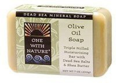 One With Nature Dead Sea Mineral Olive Oil Soap 5 pack