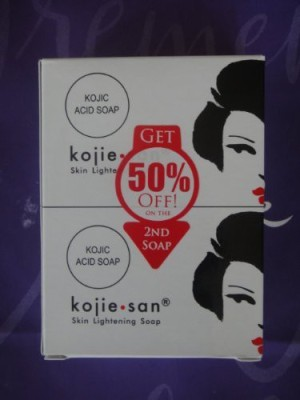 Koji San KOJIE SAN SKIN LIGHTENING SOAP (2 bars)(135 g) at flipkart