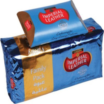 Imperial Leather Cussons Active Soap - Family Pack of 6