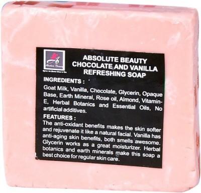 Absolute Beauty Chocolate & Vanilla Whitening Glow Skin Care Handmade Bathing Fairness Soap