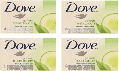 Dove Go Fresh Cucumber Imported Version (Pack of 4) 100g Each