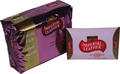 Cussons Imperial Leather Elegance Soap - Family Pack of 4