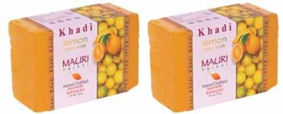Khadimauri Lemon Soap - Pack of 2 - Premium Handcafted Herbal
