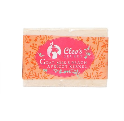 Cleo's Secret Goat Milk Soap With Peach And Apricot