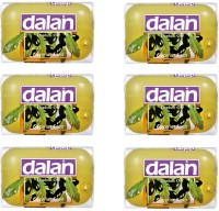 Dalan Glycerine Soap with Pure Daphne Oil(600 g, Pack of 6)