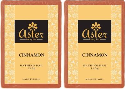Aster Luxury Cinnamon Bathing Bar - Pack of 2