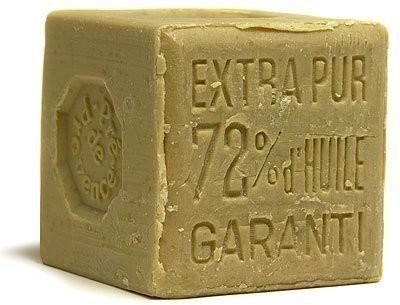 Pre De Provence Marseille Soap 72% Olive Oil Cube