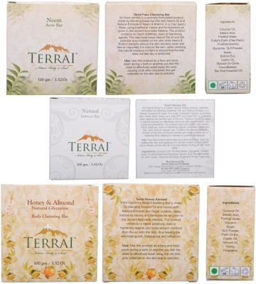 Terrai Natural Products Body Cleanser Set