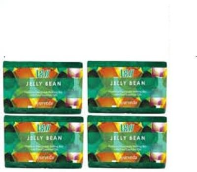 Lass Naturals Pack of 4 Lass Naturals LASS JELLY BEAN Soaps