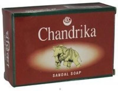 Chandrika Soap Sandal Soap Pack of 12