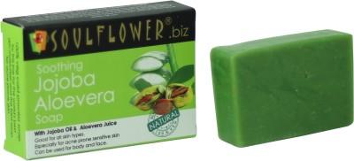 Soulflower Soothing Jojoba Aloevera Soap