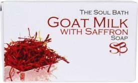 SOUL BATH Handmade Goat Milk With Saffron Petals Soap