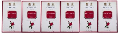 Yardley London Red Rose Luxury Soap - Pack of 6(600 g)