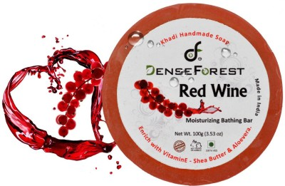Dense Forest Red Wine Khadi Handmade Soap