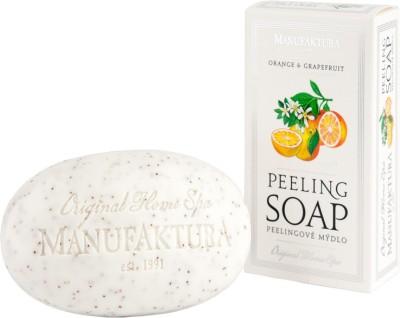 Manufaktura Orange & Grapefruit Herbal Spa Soap with Almond Oil