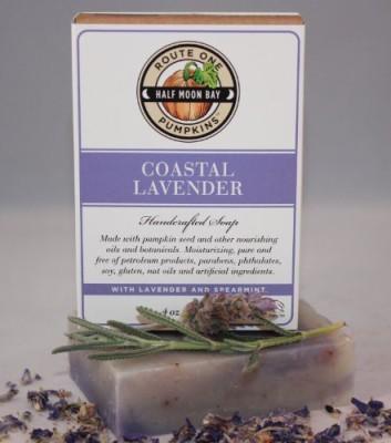 Route One Pumpkins Coastal Lavender Artisan Soap