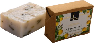 Natural Bath & Body Minty Lemon Bathing Bar