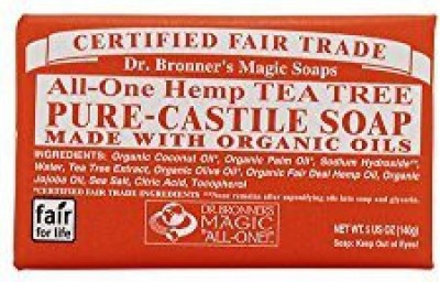 Dr. Bronner's Magic Soaps: Pure Castile Soap Bar Tea Tree (12 pack)