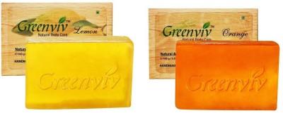 Greenviv Citrus Bath Soap Combo