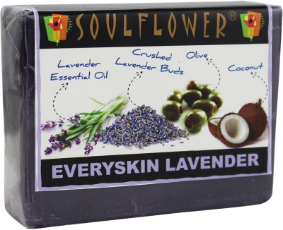 Soulflower Every Skin Lavender Soap