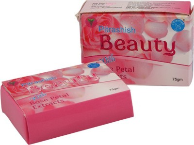 Pitrashish Beauty Soap with Rose Petal Extracts (Set of 2)