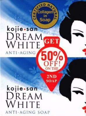 Kojie San Dreamwhite Anti Aging Soap (Pack of 2)