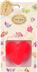 Soap Opera Designer Handcrafted Message Heart Bathing Bar(55 g)