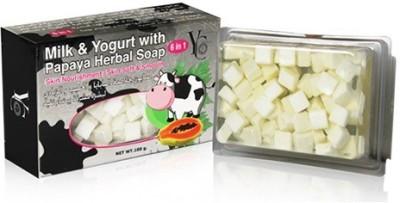 YC Milk & Yogurt With Papaya Herbal Soap 6 in 1