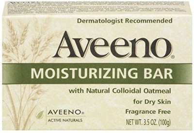 Aveeno Active Naturals Moisturizing Bar Fragrance Free Pack of 4