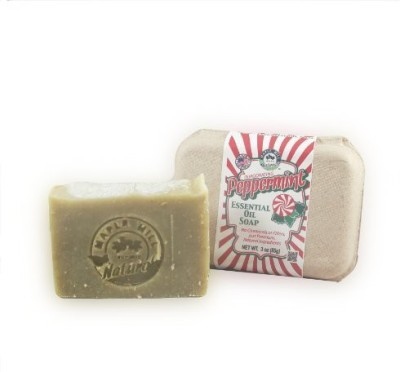 Maple Hill Naturals : All Natural Soaps (Peppermint Essential Oil)