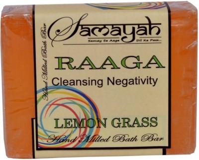 Samayah Hand Made Bath Soap Raaga (Lemon Grass)