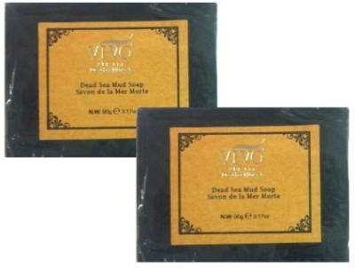 Vivo Per Lei Dead Sea Mud Soap (Pack of 2)